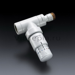 """1012066 Oventrop Термостат """"Uni SH"""" 7-28 °C, 0 * 1-5, белый"""