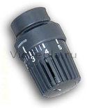 """1011467 Oventrop Термостат """"Uni LH"""" 7-28 °C, 0 * 1-5, антрацит."""
